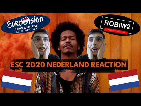[REACTION] Eurovision 2020 ► Netherlands � Jeangu Macrooy - Grow