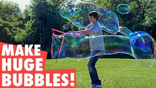 Make 35-foot long bubbles!
