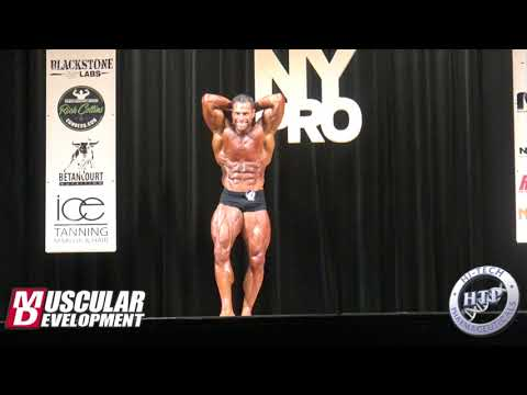 David Hoffmann's Posing Routine (3rd in CPD) | 2018 IFBB New York Pro