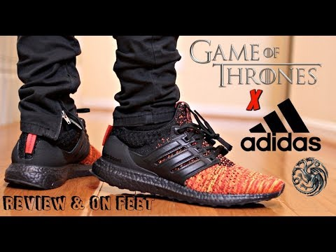 Game of Thrones x adidas Ultra Boost 4.0 Targaryen Dragons