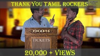 Welcome TamilRockers | Tamilnadu Theatre strike | Sothikathinga da #4 | Chennai Pops