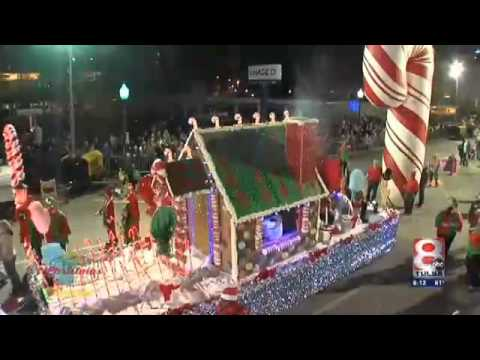ktul channel 8 tulsa christmas parade float interview
