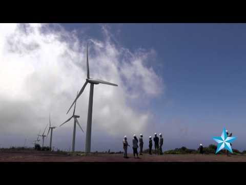 Maui's Kaheawa Wind Farm