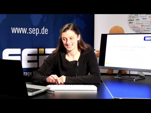 Backup Management | SEP sesam Tutorial (Lang_EN)