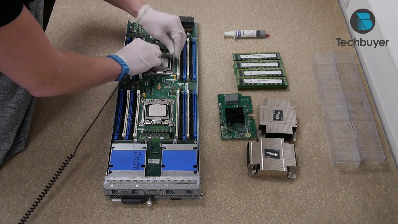 CISCO UCS B200 M4 Blade Server Build