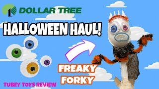 How To Make Halloween Forky Toy Story 4 Easy Tutorial! DIY Halloween Craft Forky Spiders Bats