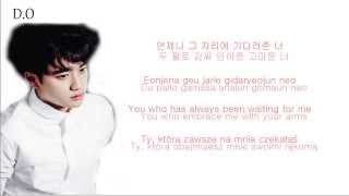 EXO - Promise (약속) (Korean Ver.) Color Coded Hangul/English/Romanized/Polish Lyrics