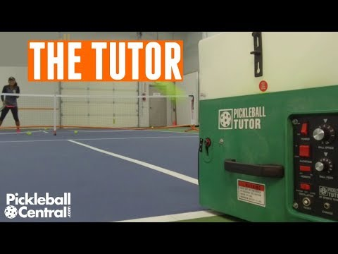 The Pickleball Tutor Ball Machine Review