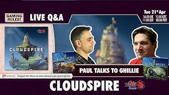 Live Q&A with Ghillie from Chip Theory Games talking about Cloudspire