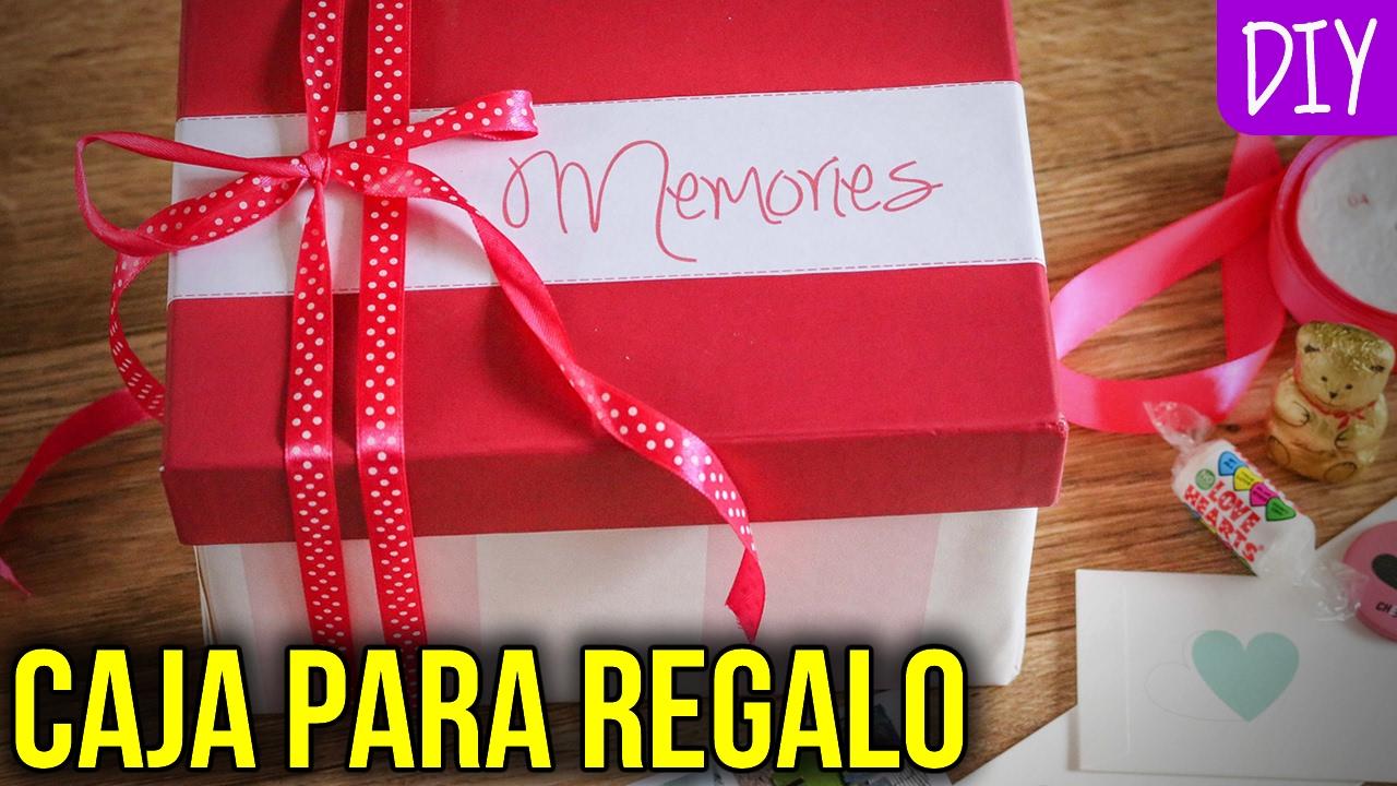 Caja de regalo para tu novio o novia manualidades - Cajas para manualidades ...