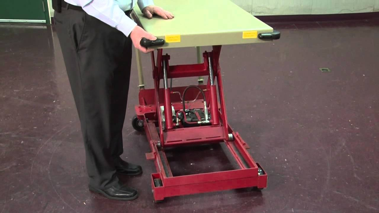 Southworth Products Portable Backsaver Lite Lift Youtube