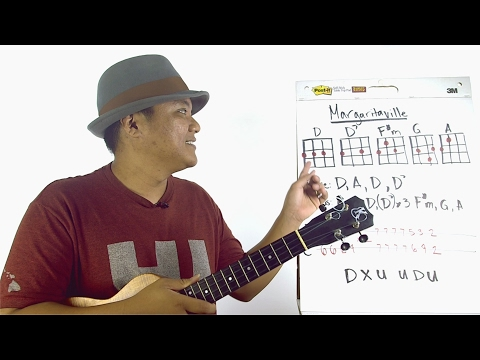 Ukulele Whiteboard Request - Margaritaville