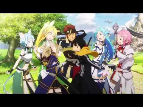 Sword Art Online S2 OP2 - Courage 「Calibur」