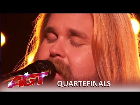 Chris Kläfford: Swedish Singer Debuts Original Song Singing Hallelujah| America's Got Talent 2019