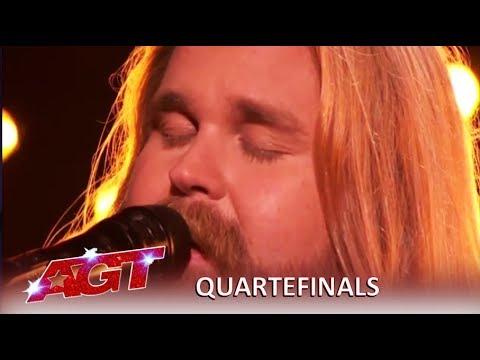 Chris Kläfford: Swedish Singer Debuts Original Song Singing Hallelujah| Americas Got Talent 2019