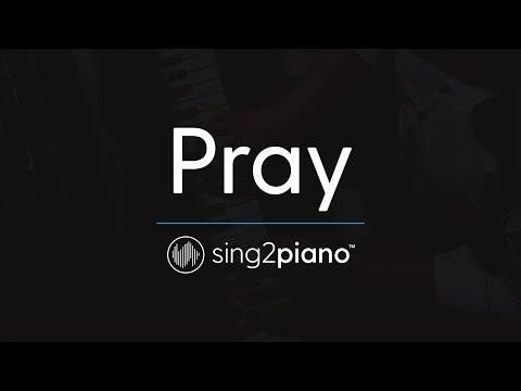 Pray [Piano Karaoke Instrumental] Sam Smith