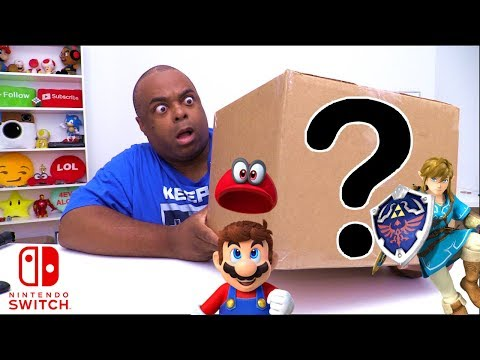 MYSTERY BOX of NINTENDO SWITCH Accessories!
