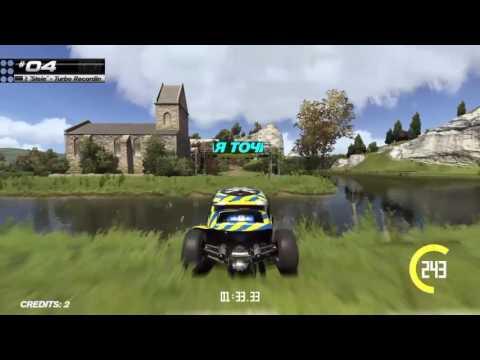 Trackmania Turbo: Custom Valley Off-Road Track