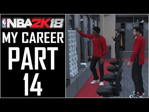 "NBA 2K18 - My Career - Let's Play - Part 14 - ""Shammy Gets Pranked, Meeting Juug"""