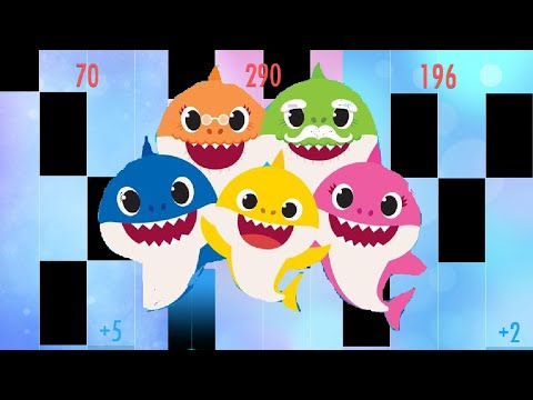 Baby Shark In Piano Tiles 2 !!!