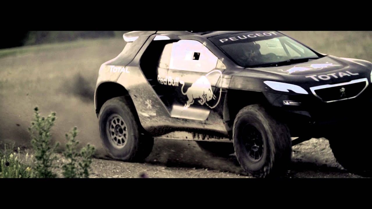 meet the peugeot 2008 dkr a bold technical gamble youtube. Black Bedroom Furniture Sets. Home Design Ideas