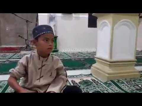 (anak pesantren al-fatah temboro) Masha Allah merinding dengar suaranya😭😭