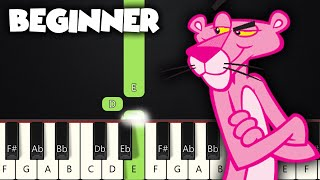 Download lagu The Pink Panther Theme | BEGINNER PIANO TUTORIAL + SHEET MUSIC by Betacustic