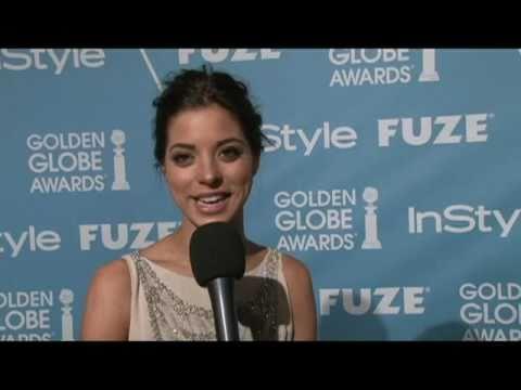 Meet Miss Golden Globe 2011, Gia Mantegna