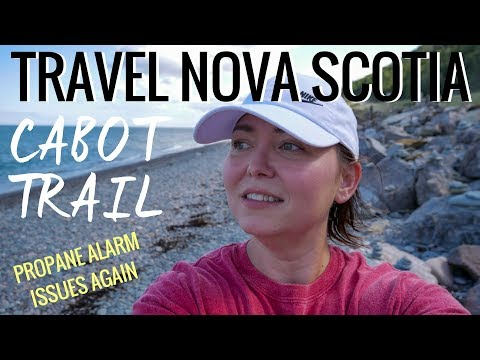 RV Road Trip Cape Breton Island, Nova Scotia on Cabot Trail | Solo Women RV Travel Blog