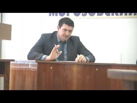 Встреча с селян Морозовского района с замминистра сельского хозяйства области Репкой и Тришечкиным
