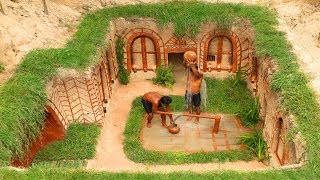 New discovery underground well and house - Amazing idea digging underground house and water well