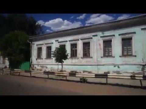 Вязники, поездка на автобусе до железнодорожного вокзала. 01.06.2013