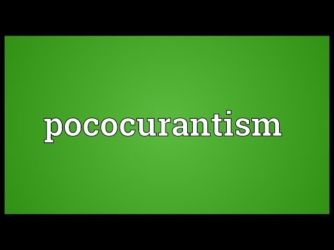 Header of pococurantism