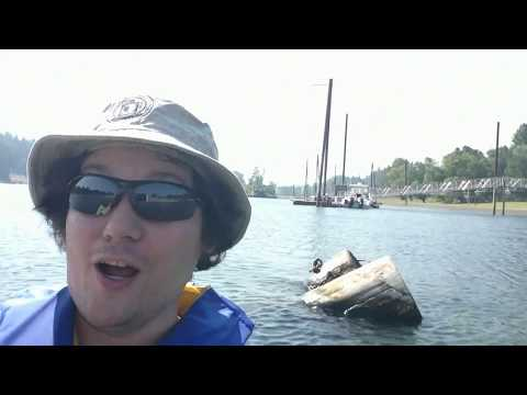 Kayaking the Willamette River