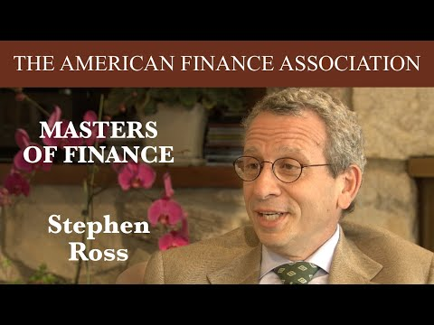 Masters of Finance: Stephen Ross - YouTube