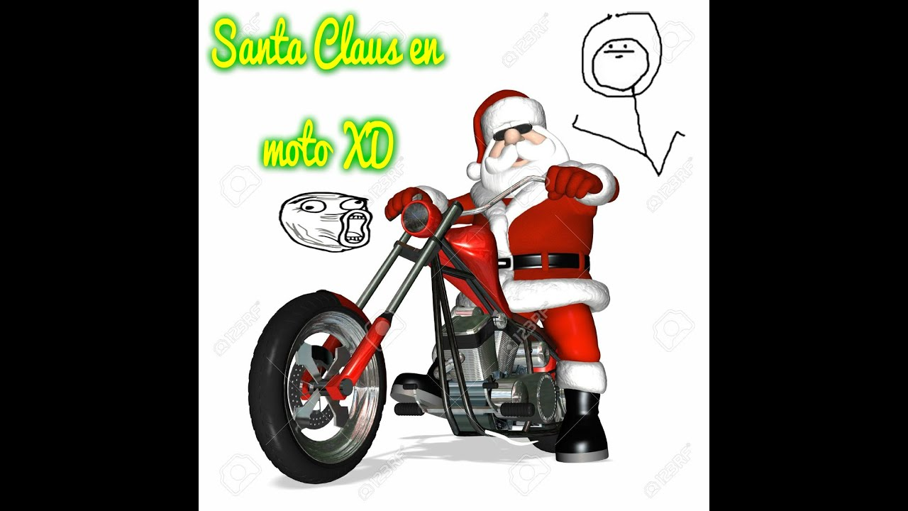 Santa claus en moto especial navidad youtube - Un santa claus especial ...
