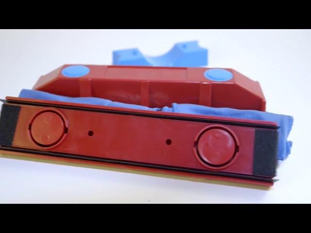 The Glider магнитная щетка для мытья окон