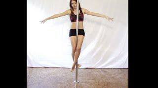 Pole dance tutorial beginners #2: Crucifix (online free lesson) ita - Livello base