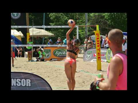Ontario Volleyball Competition at Woodbine Beach, Toronto