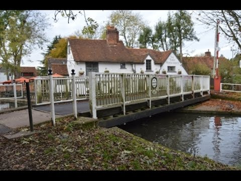 How Does a Canal  Swing Bridge Work? Actual Adventure!