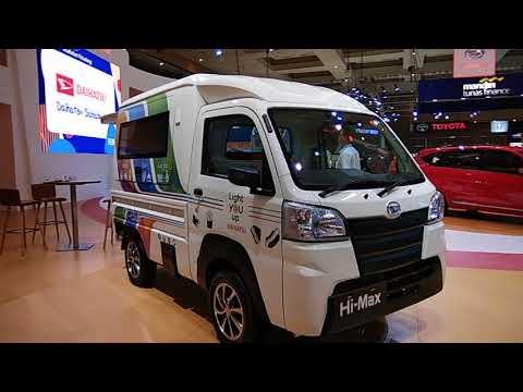 Inspirasi Modifikasi Untuk Usaha Daihatsu Hi Max Jadi Mobil Cafe IIMS 2018 - Indonesia
