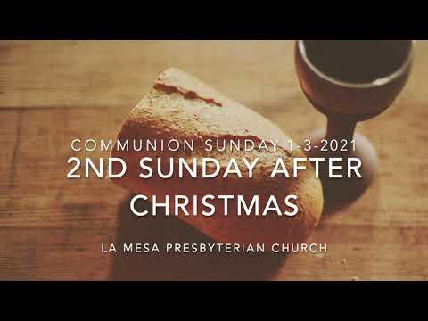 January 3, 2021 Worship Service