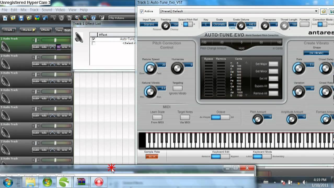 Auto Tune 5 : auto tune evo t pain settings for mixcraft 5 youtube ~ Hamham.info Haus und Dekorationen