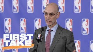 First Take reacts to NBA's new lottery rules | First Take | ESPN
