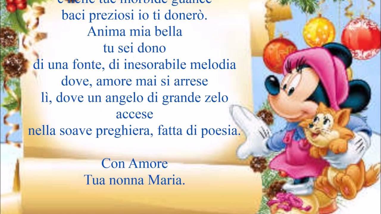 Connu Video Poesia dedicata al piccolo Alessandro dalla Nonna Maria  AT17