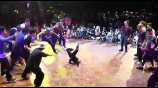 Bgirl Terra (7 yrs old) at Battle of the Year: Europe