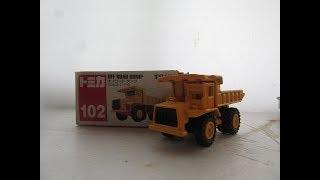 車種説明、アメリカのテレックス社の大型ダンプで、主にダムの工事現場...