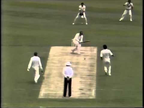 Wasim Akram PART ONE entire bowling spell vs Australia 1989 MCG 1st test
