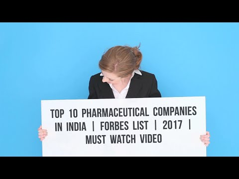 Top 10 Pharmaceuticals companies in INDIA | Forbes List | 2017 | Must watch video