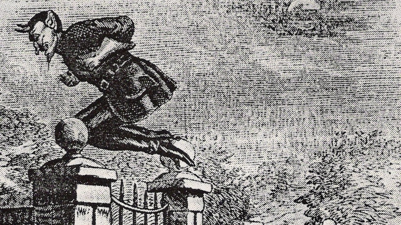 a history of spring heeled jack of london Spring-heeled jack strikes again (photo: guise/public domain) in victorian england, the scariest boogeyman was a fire-breathing devil-man who as described in historian mike dash's exhaustive history of the figure's reported appearances, residents of a london neighborhood began to report.